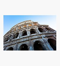 Colosseum (Rome. Italy. Europe Photographic Print