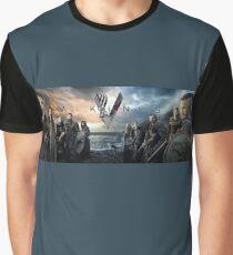 Vikings screen shot Graphic T-Shirt