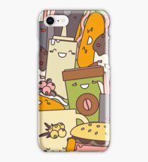 Fast  Food illustration iPhone Case/Skin
