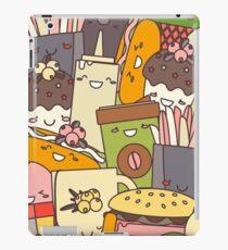 Fast  Food illustration iPad Case/Skin