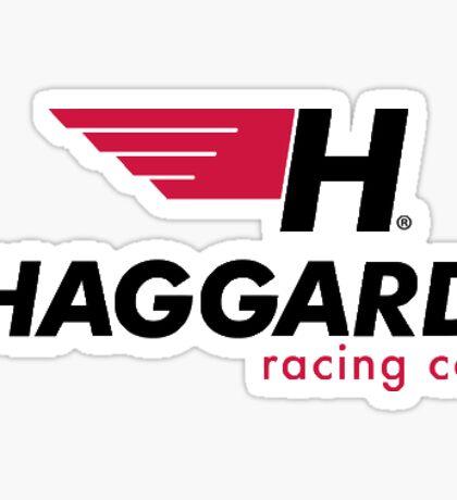 HAGGARD GARAGE  STICKER Sticker