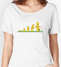 Lego Man Evolution Women's Relaxed Fit T-Shirt