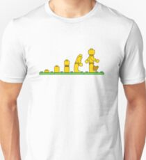 Lego Man Evolution Unisex T-Shirt