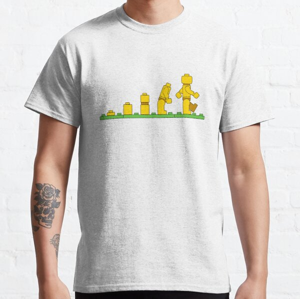Lego Man Evolution Classic T-Shirt