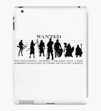 RPG Heldengruppe iPad Case/Skin