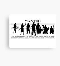 RPG Heldengruppe Canvas Print