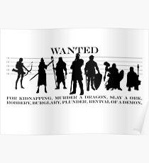 RPG Heldengruppe Poster