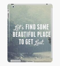 Beautiful Quotes Photography iPad Case/Skin