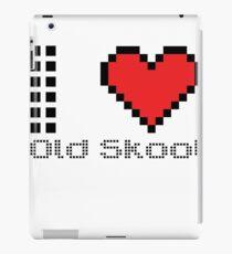 Vinilo o funda para iPad I love old skool
