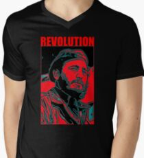 FIDEL CASTRO Men's V-Neck T-Shirt