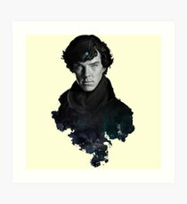 Sherlock the legend Art Print