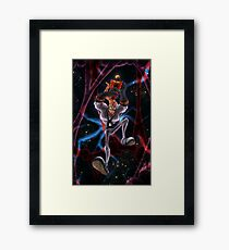 The Descent Framed Print