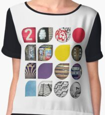 Cold Comfort Collage — The Streets Women's Chiffon Top