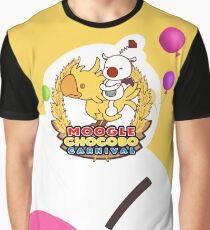 Moogle Chocobo Carnival Graphic T-Shirt
