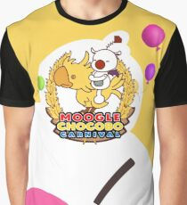 Moogle Chocobo Carnival Graphic T-Shirt