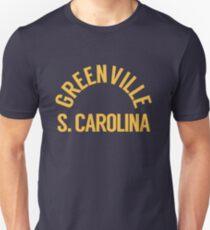 Greenville SC Letter Arch Unisex T-Shirt