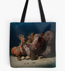 Spotted Moray Eel Tote Bag