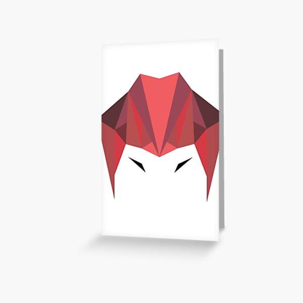Intense Greeting Card