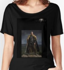 'Ragnar Lodbrok King of the Vikings' from the Vikings Women's Relaxed Fit T-Shirt