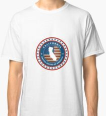 Vintage label California Classic T-Shirt