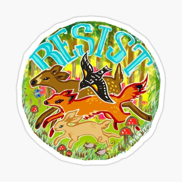 Forest RESISTANCE Sticker