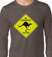 NO KANGAROOS IN AUSTRIA Long Sleeve T-Shirt