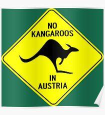 NO KANGAROOS IN AUSTRIA Poster