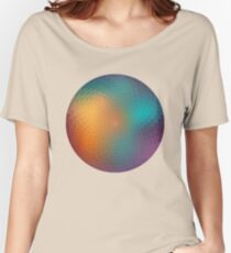 Geometric pattern colorful circle Women's Relaxed Fit T-Shirt