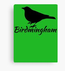 Birdmingham Canvas Print
