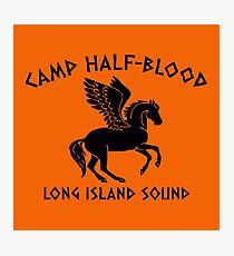 Camp Half Blood Game Photographic Print