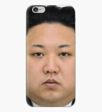 Kim Jong-un Face on something... :D iPhone Case