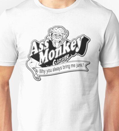 Ass Monkey Garage Unisex T-Shirt