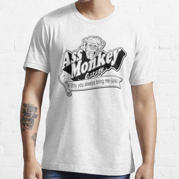 Ass Monkey Garage T-shirt essentiel