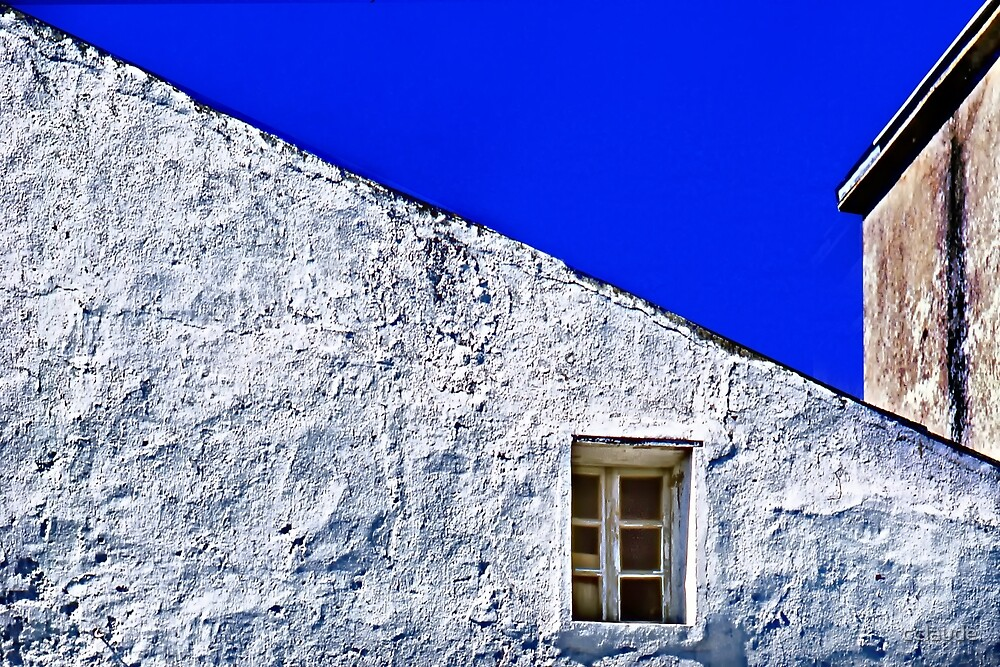 White Wall with Window by cclaude