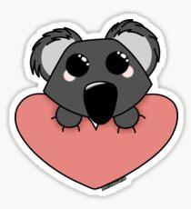 Koala love - happy valentines day #digistickie Sticker