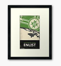 Exterminate the normies. - Kekistan Poster Framed Print