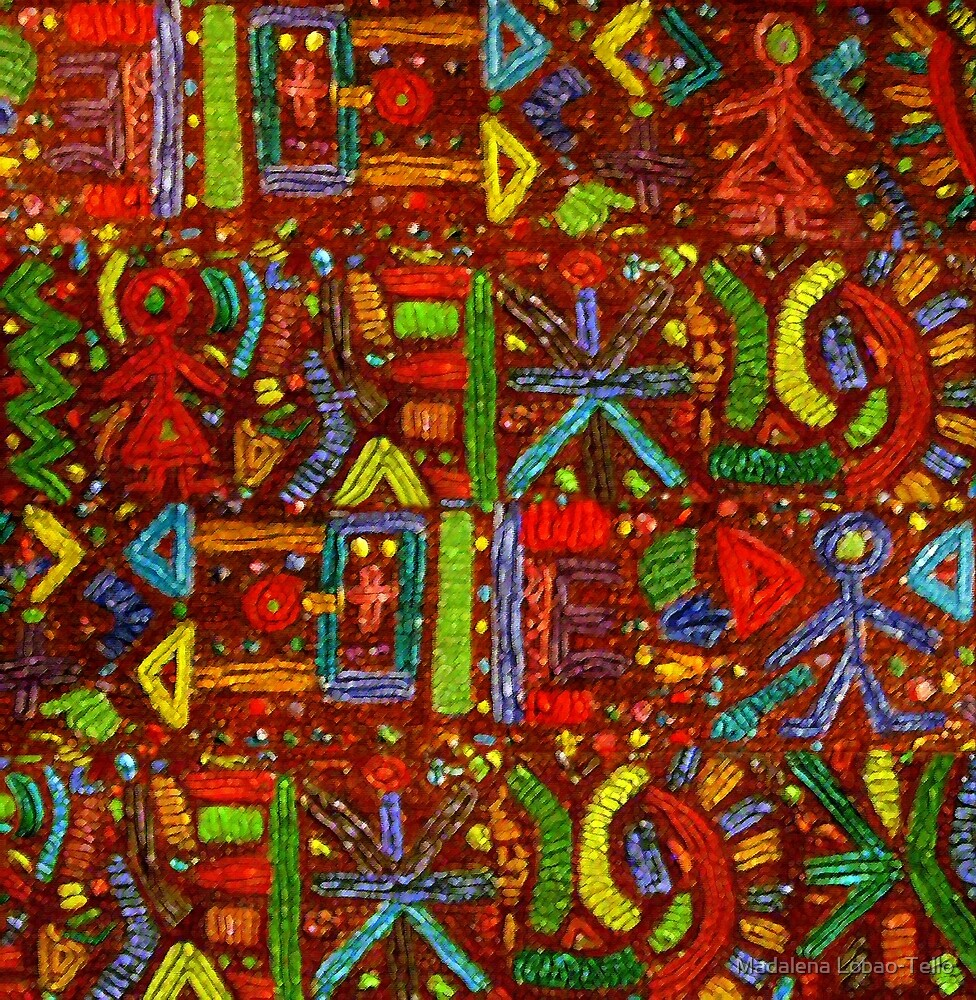 Iberoamerican Colors I by Madalena Lobao-Tello
