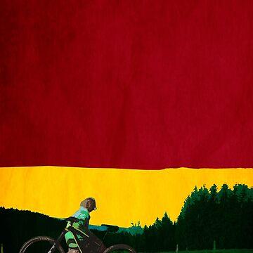 reggae mountain bike landscape by DrQuarzZz