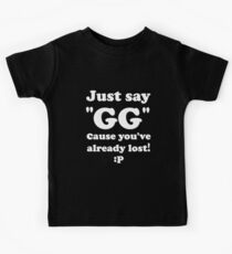 Just Say GG Steam PC Gamer Master Race Kids Clothes