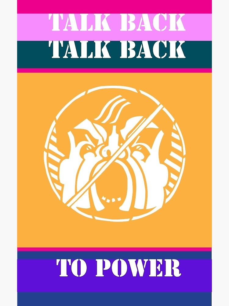 Talk Back to Power by Lillian-Trettin