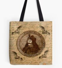 Count Vlad Dracula Tote Bag