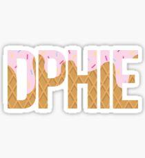 DPhiE Ice Cream Cone Sticker