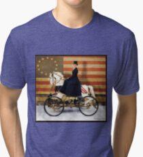 Carousel Motors Liberty Edition Tri-blend T-Shirt