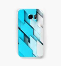 geometric shapes background Samsung Galaxy Case/Skin