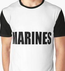 Basic MARINES Graphic T-Shirt