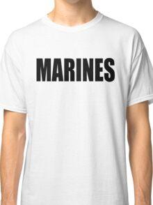 Basic MARINES Classic T-Shirt