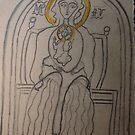 Coptic Madonna. Tribute to Coptic Culture. by Dr.Andrzej Goszcz. by © Andrzej Goszcz,M.D. Ph.D