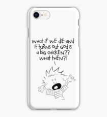 What if we die iPhone Case/Skin