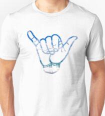 Hang Loose -  Beach Background Unisex T-Shirt