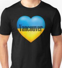 Ukrainian Heart In Vancouver T-Shirt